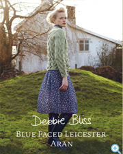 [Debbie Bliss] Blue Faced Leicester aran